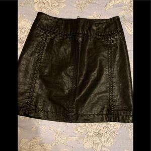 Free People Faux Leather